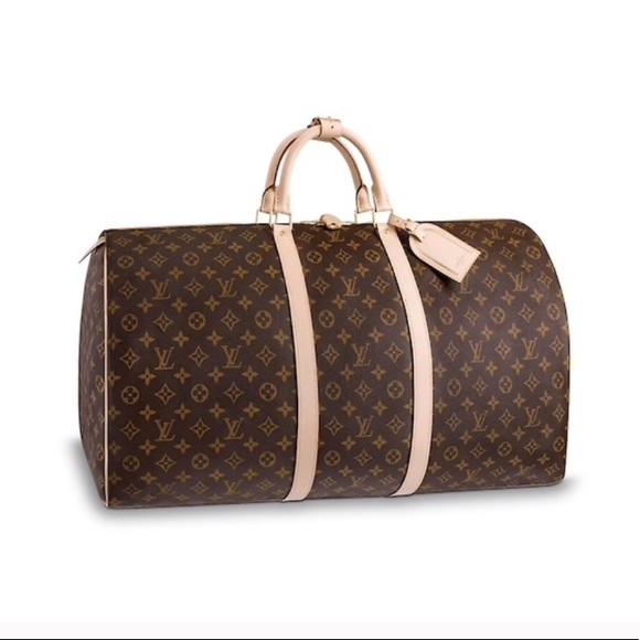 Louis Vuitton Handbags - Louis Vuitton KEEPALL 50 Luggage bag carry on dafdef9d25